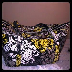 Vera Bradley Baroque Miller bag- Good cond.